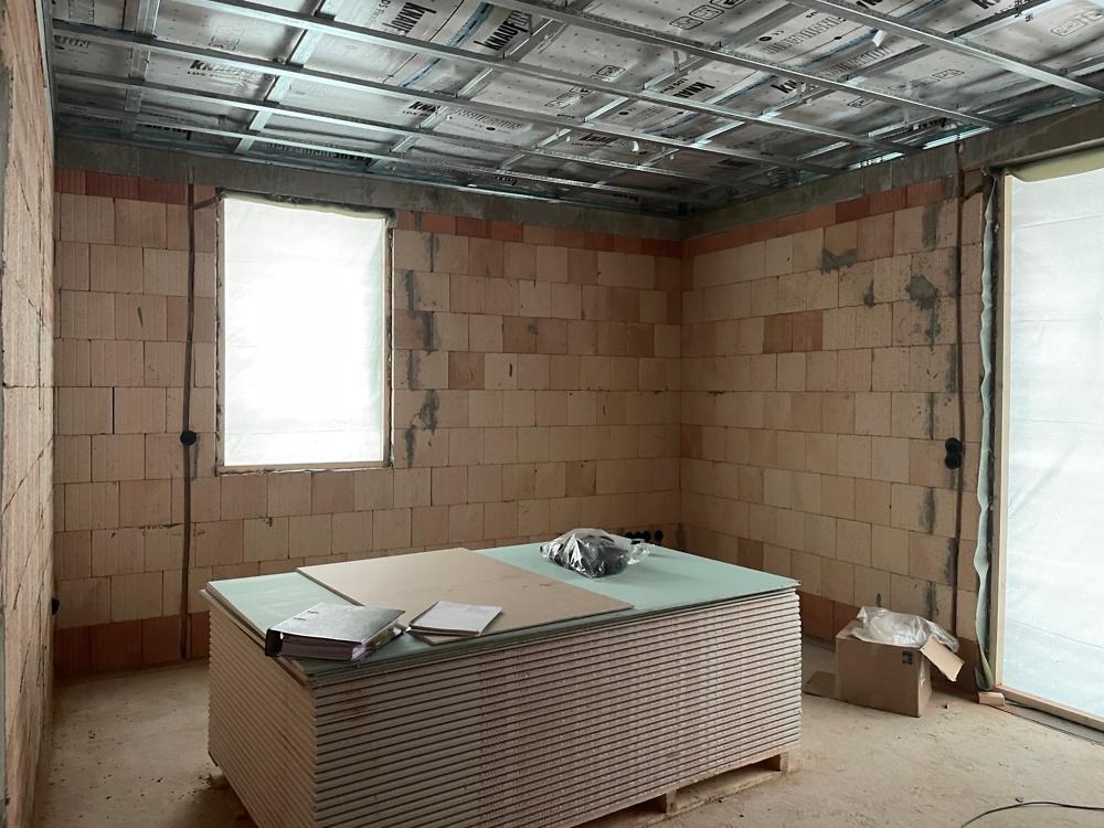 16.02.2021 Blick in ein zukünftiges Wohnzimmer