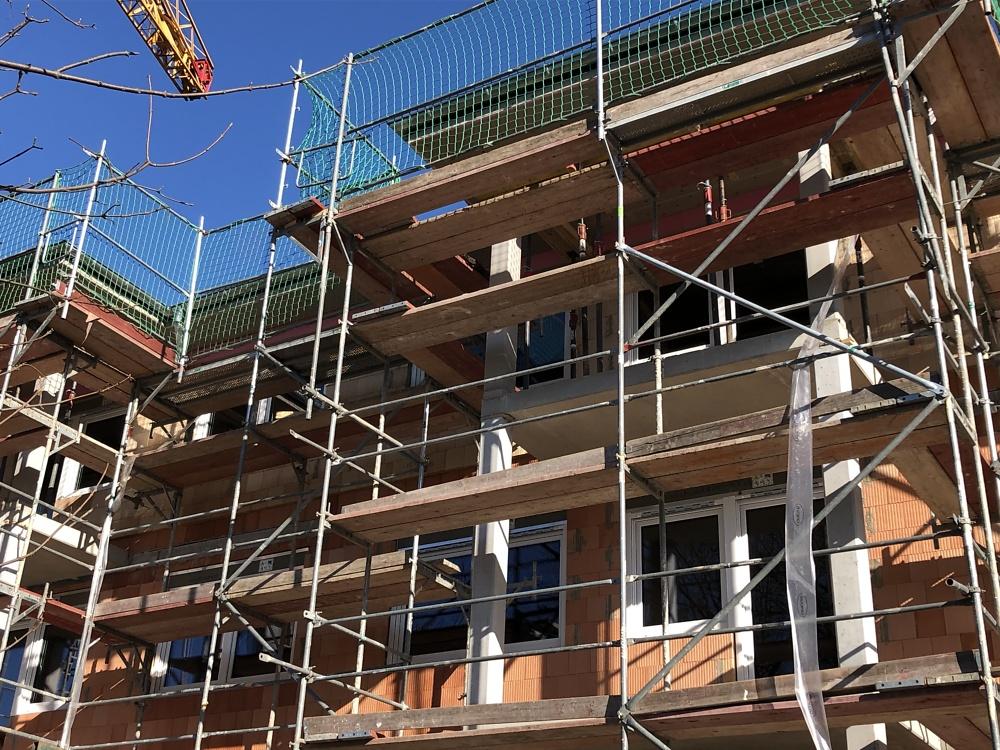22.02.2021 - Einbau der Fenster